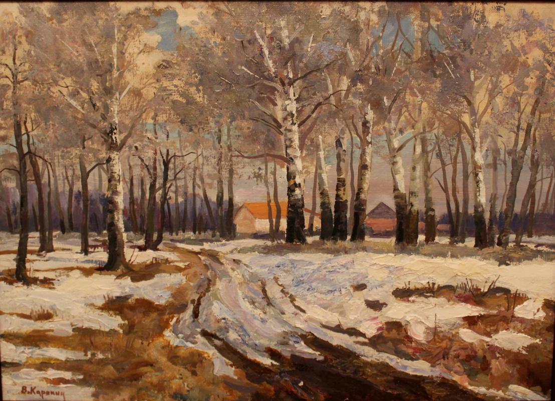 Victor Tikhonovich Karjakin. Spring thaw