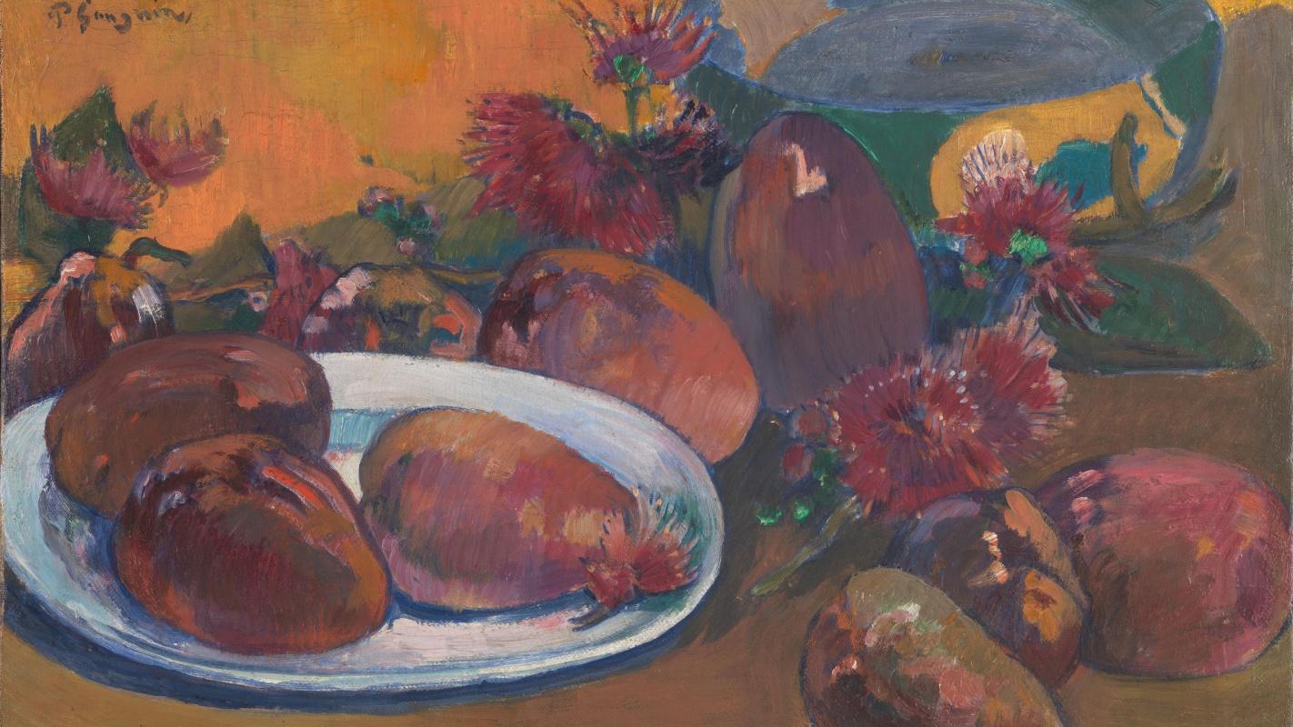 Поль Гоген. Натюрморт с манго