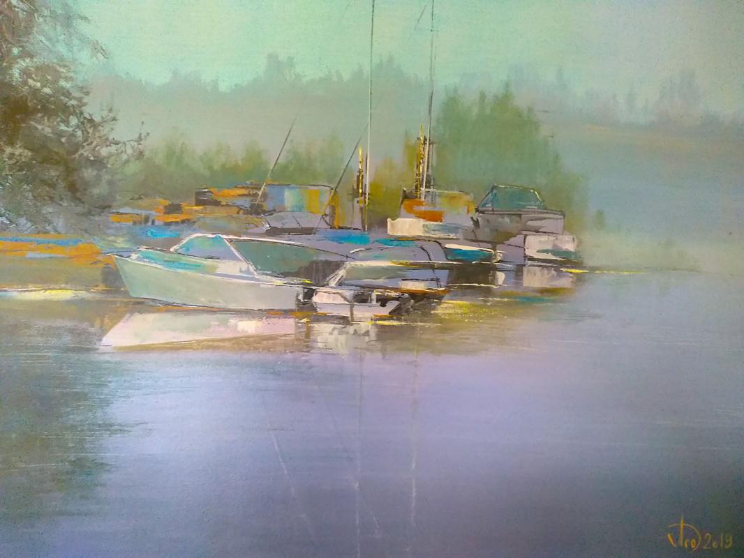 Alexander Alekseevich Lednev. Plos Boats