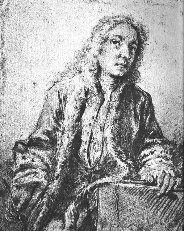 Франсуа Буше. Портрет Антуана Ватто
