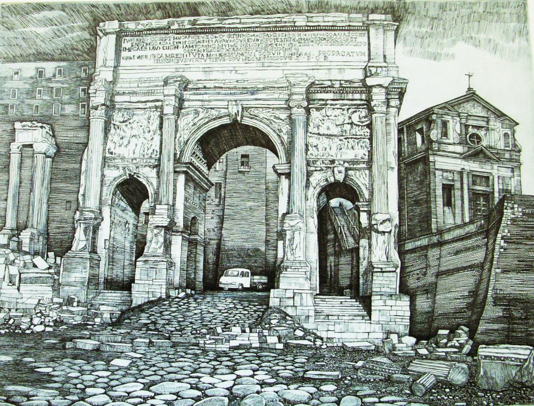 Anatoly Yaroslavtsev. Arch of the North