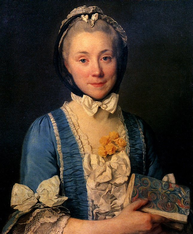 Жозеф Сиффред Дюплесси. Мадам Ленуар, мать Александра Ленуара — основателя Музея французских памятников