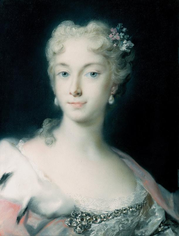 Розальба Каррьера (Каррера). Мария Тереза, эрцгерцогиня Габсбургская (1717-1780)
