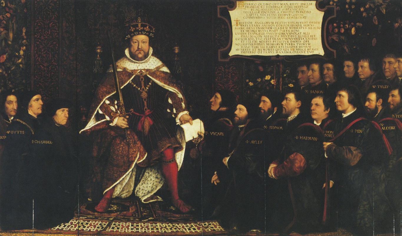 Ганс Гольбейн Младший. Генрих VIII в окружении врачей