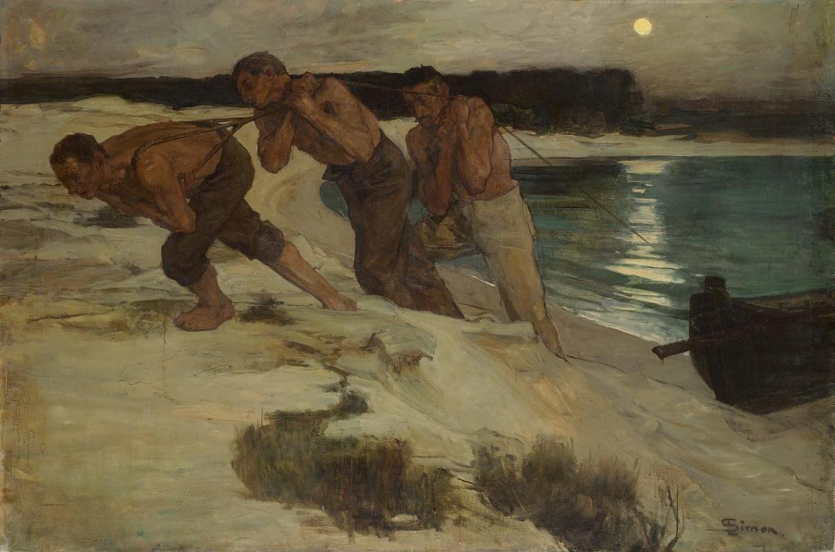 Lucien Simon. The shipowners