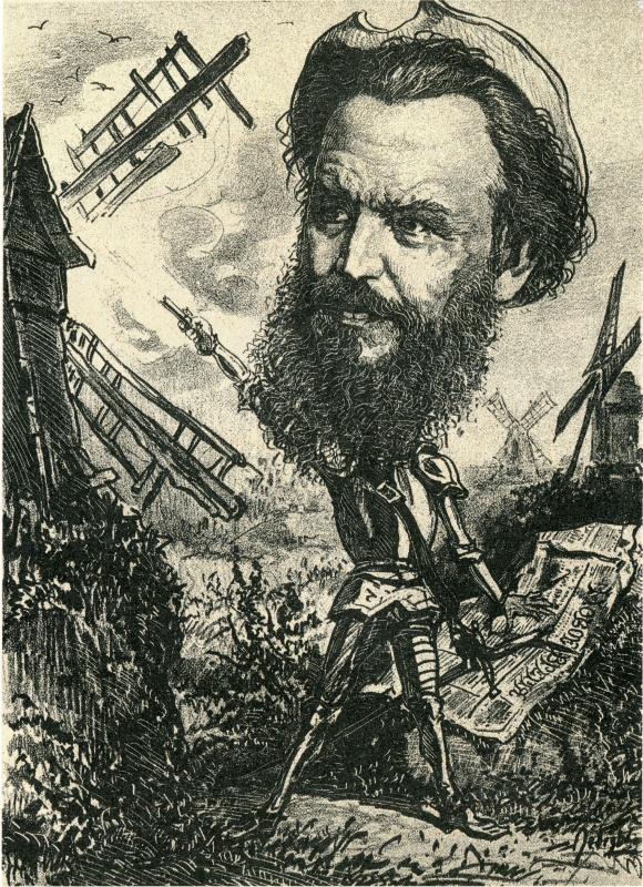 Александр Игнатьевич Лебедев. А. С. Суворин, журналист, писатель, издатель «Нового времени»