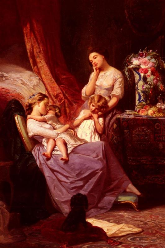 Арнольд Бломерс. Материнская любовь