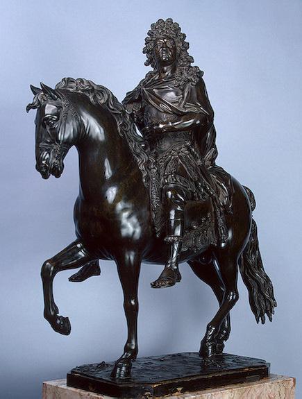 Франсуа Гирардон. Статуя Людовика XIV