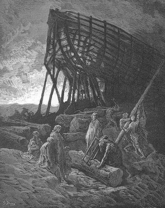 Поль Гюстав Доре. И начал он строить огромное судно...