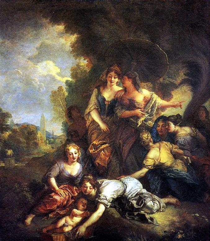 Шарль Де Лафосс. Нахождение Моисея