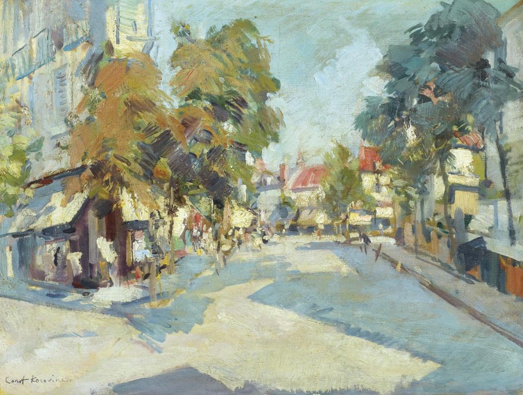 Konstantin Korovin. Sunny street