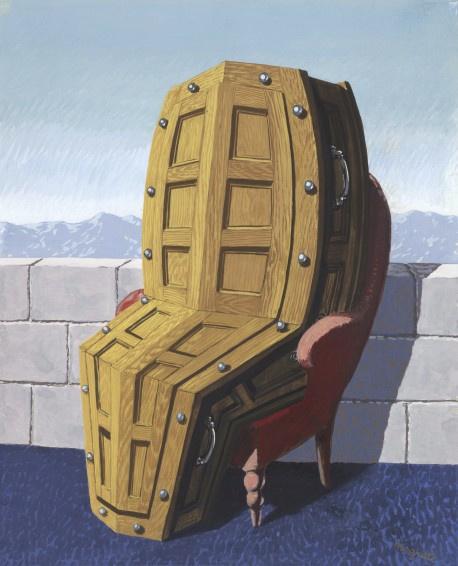 René Magritte. Перспектива