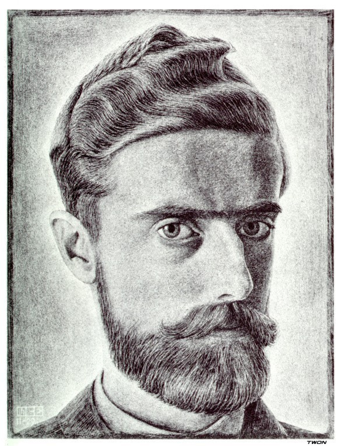 Мауриц Корнелис Эшер. Автопортрет2