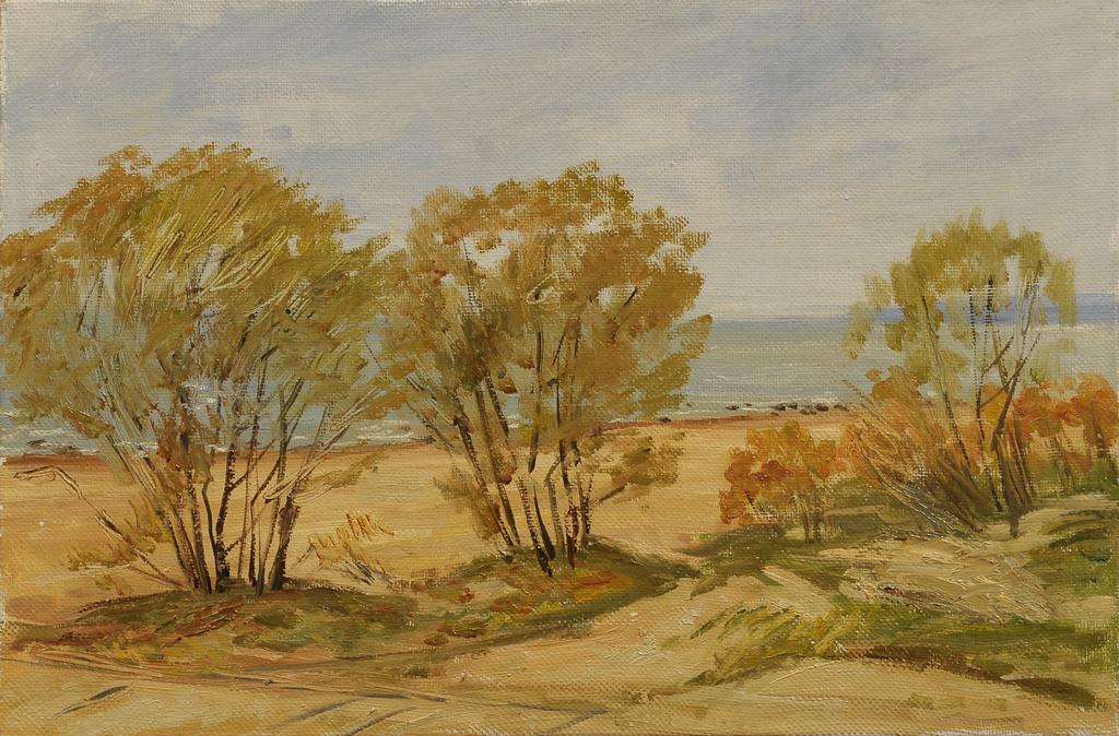 "Сергей Григорьевич Коваль. ""Autumn"" the Gulf of Finland H. M."