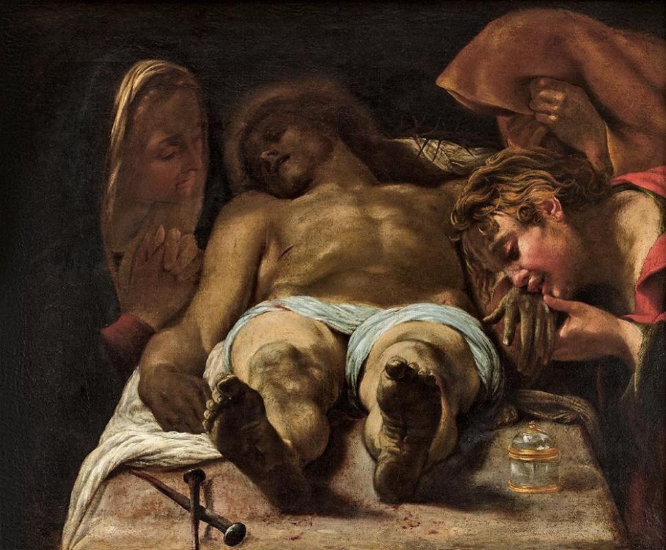 Орацио Борджианни. Оплакивание тела Христа
