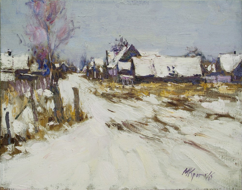 Michael Mole. Fresh snow.