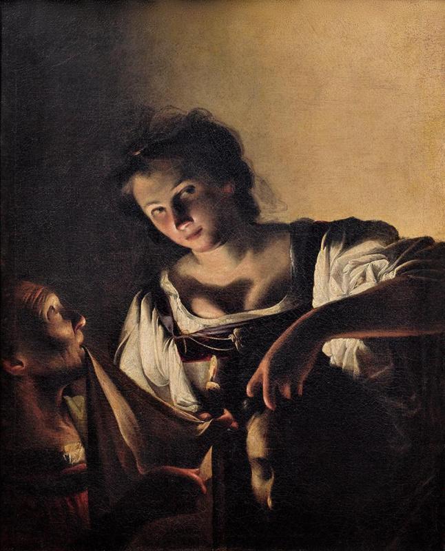 Carlo Saraceni. Judith with the head of Holofernes