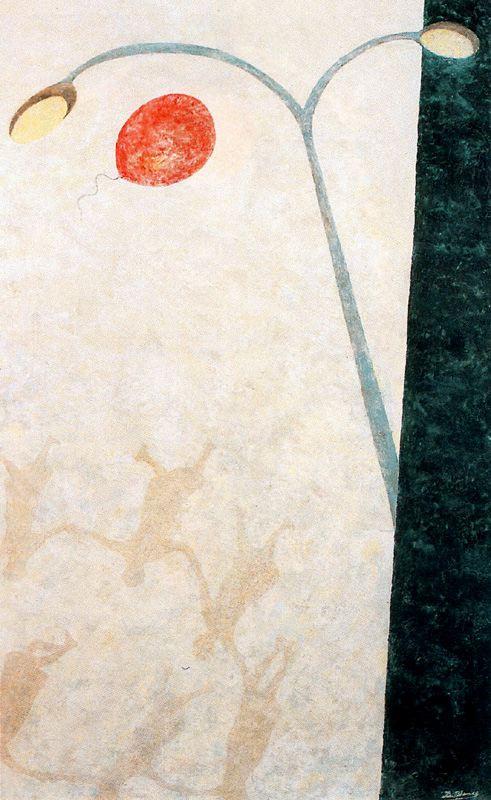 Дионисио Бланко. Фонарь и шар
