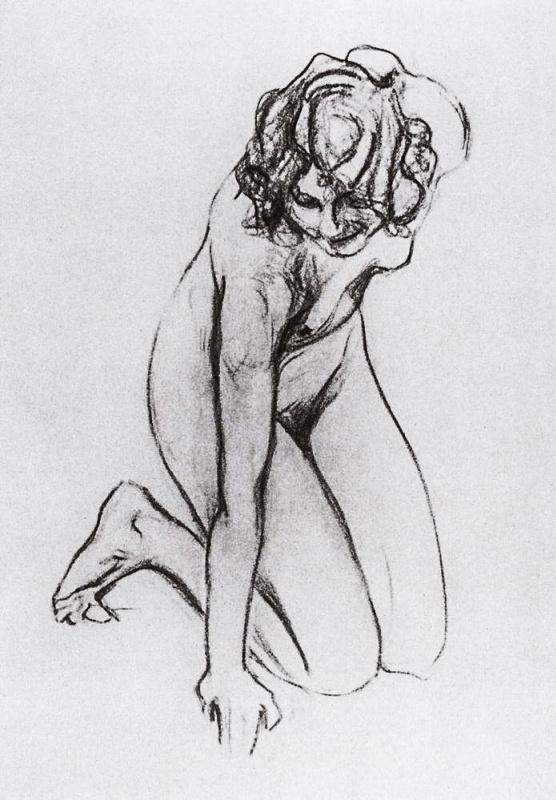 Valentin Aleksandrovich Serov. Nude Woman