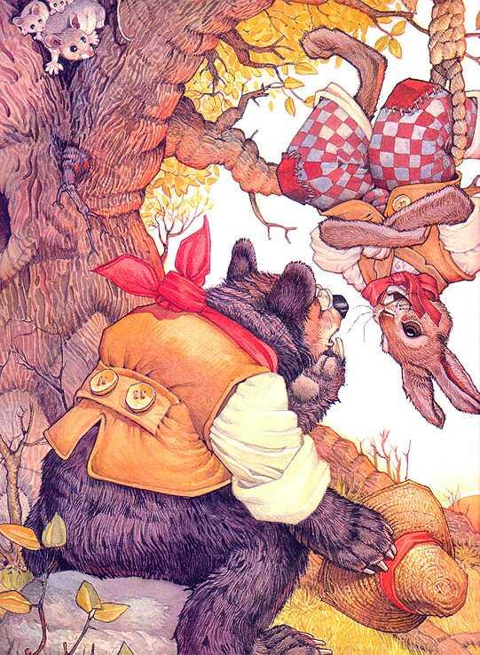 Дон Дэйли. Иллюстрация к сказке Братец Кролик 007