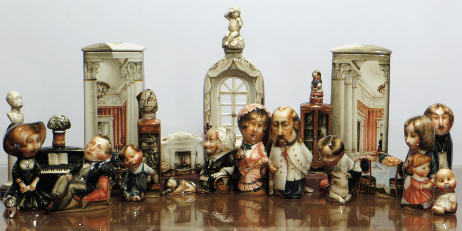 """Andrey Borisovich Cherkasov. Plot from the collection """"House.Family"""""""