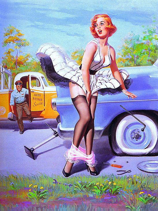 Art Fram. Pin-up 8