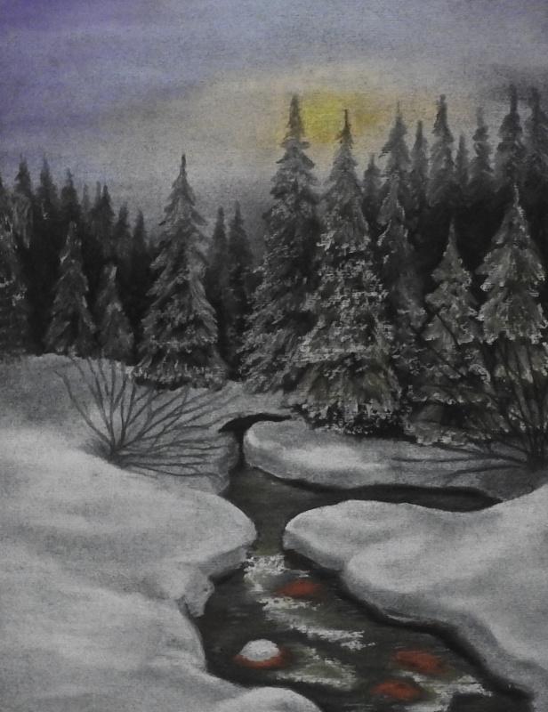 Olga Vladimirovna Nadtochaeva. Mountain Creek