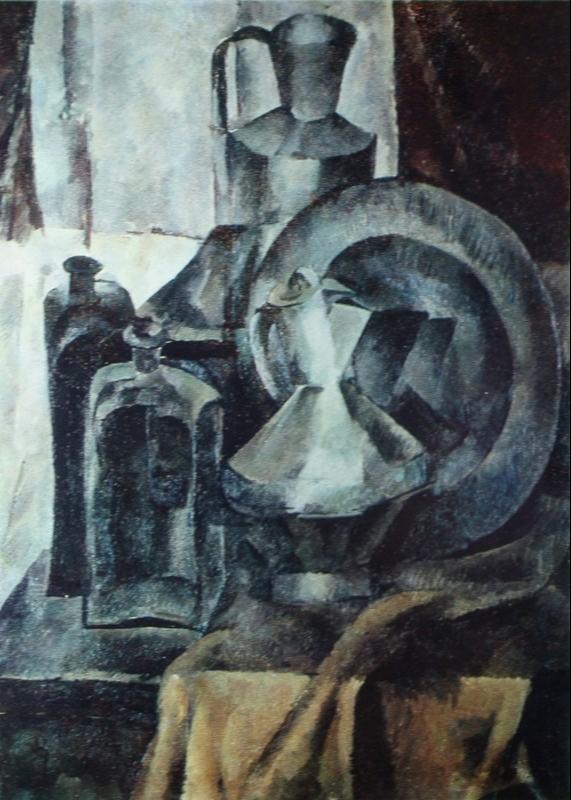 Alexander Alexandrovich Osmercin. Still life. State Russian Museum.