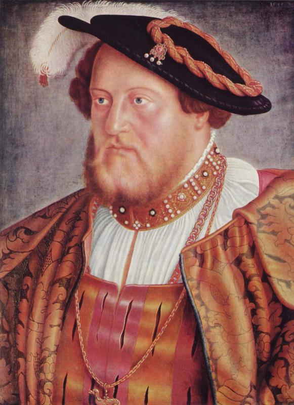 Бартель Бехам. Портрет пфальцского графа Оттхайнриха