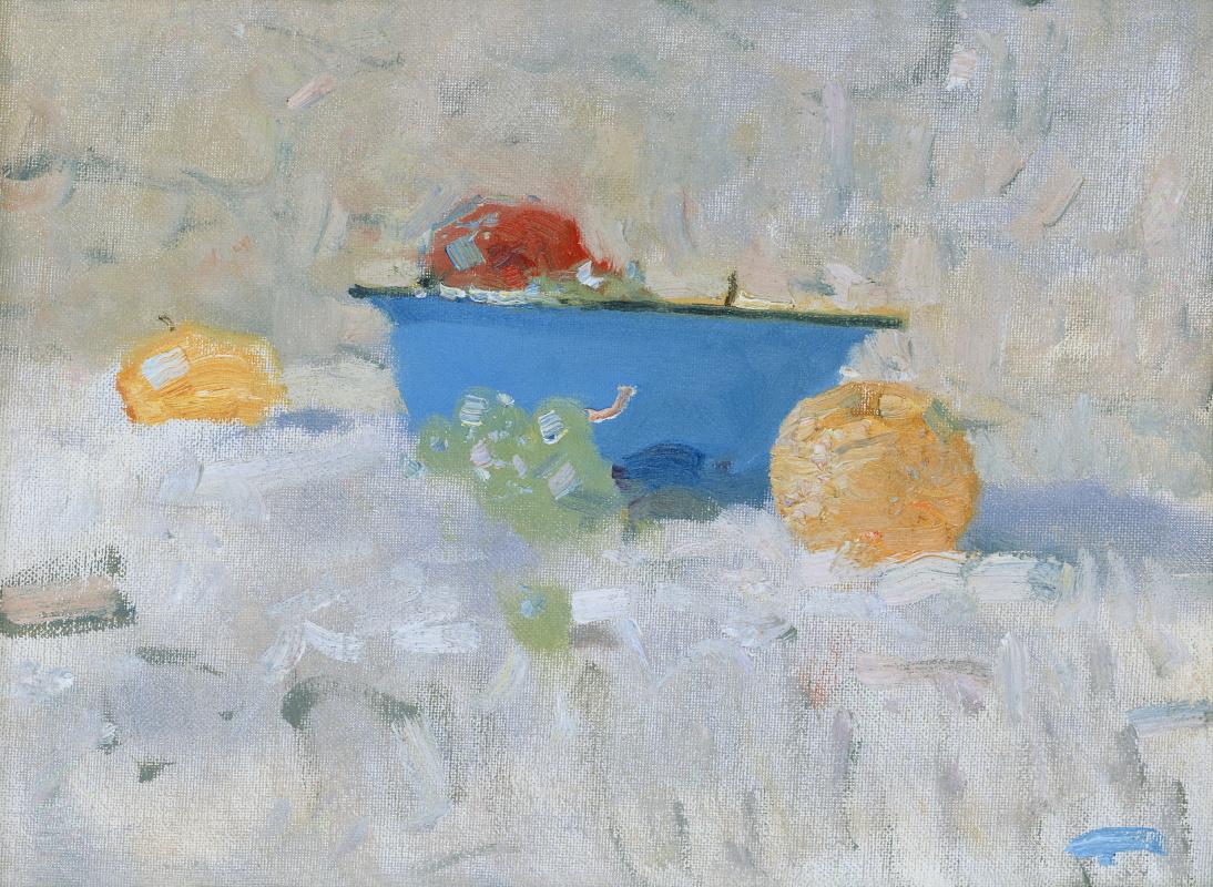 Бато Дугарович Дугаржапов. Натюрморт с яблоками