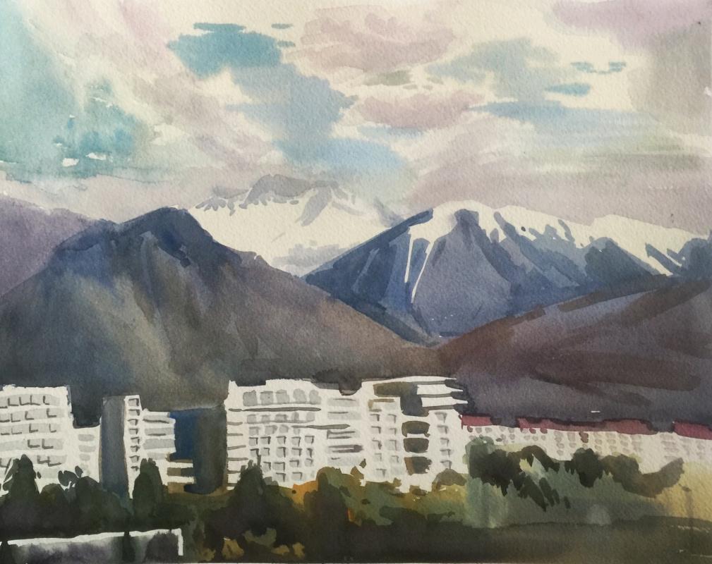 Elizaveta Ostrovskaya. Mountain landscape. Sochi