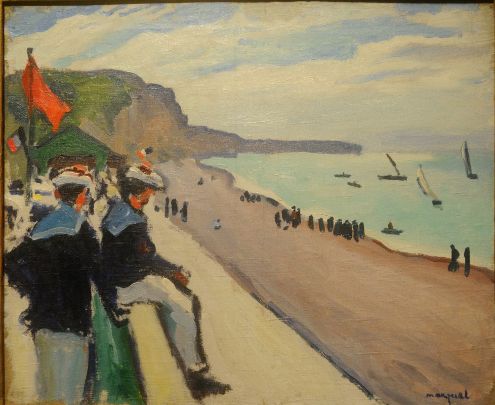 Albert Marquet. The beach in Pecane