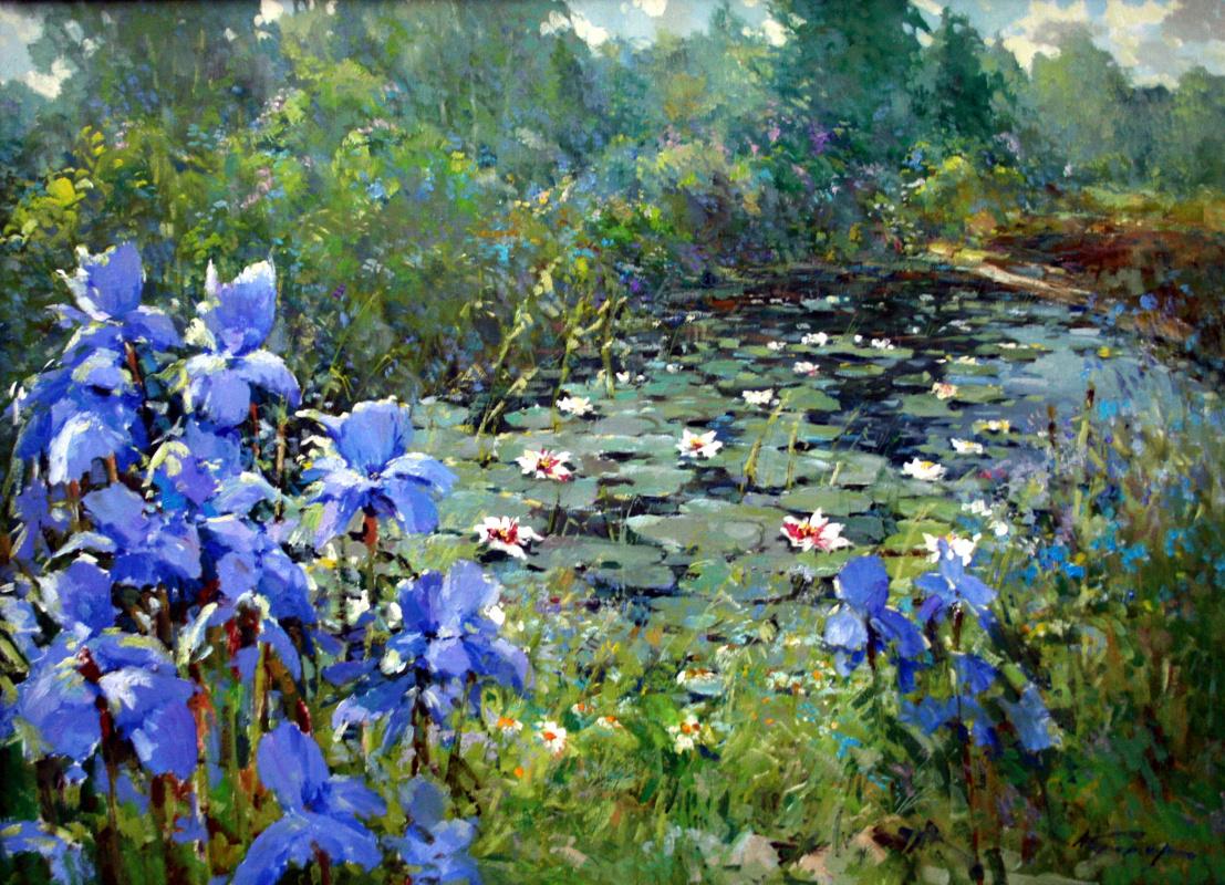 Alexander Markovich Kremer. Irises