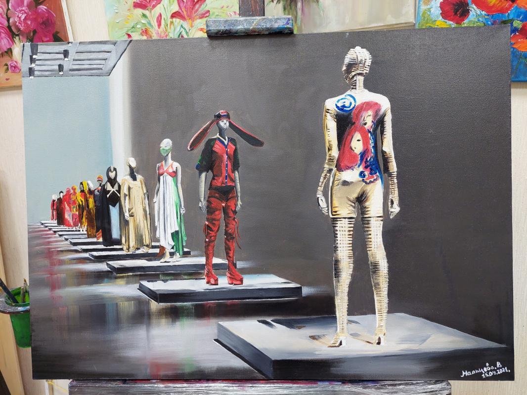 Victoria Maltseva. Exhibition