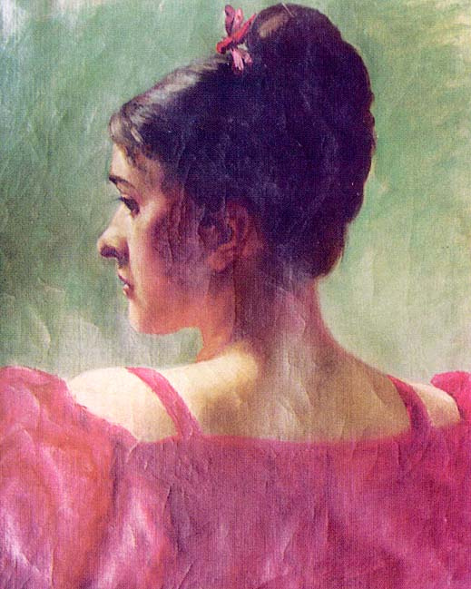 Kuemmel. The girl in the red