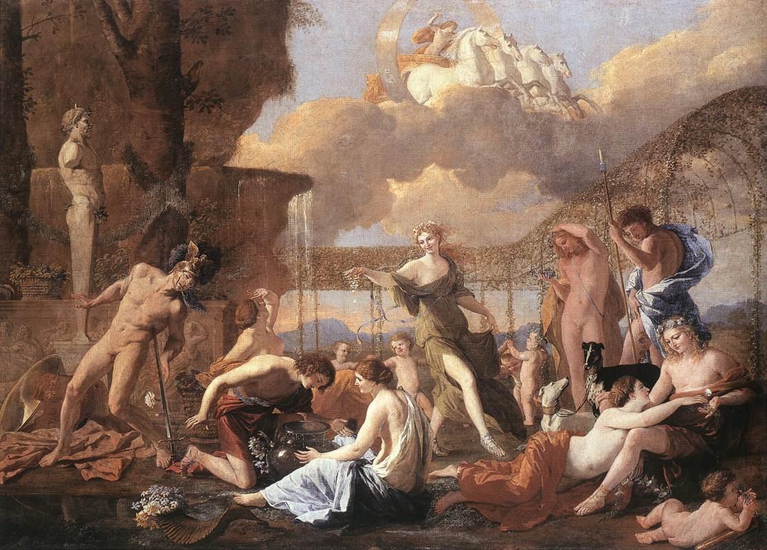 Nicolas Poussin. Kingdom Of Flora