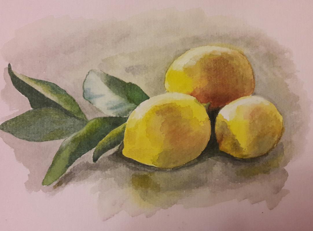 Anastasiia Istratova. Лимоны