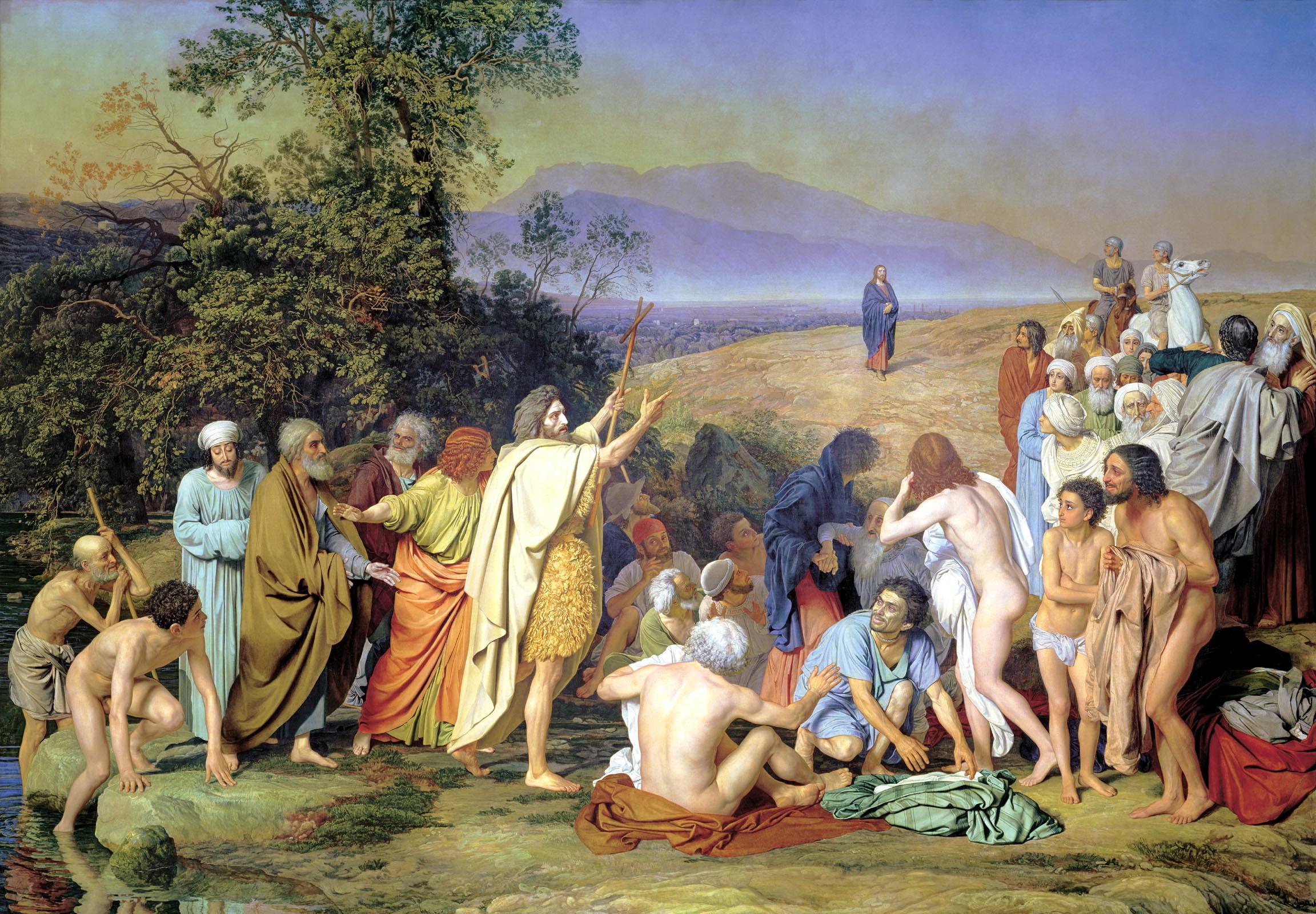 Александр Андреевич Иванов. Явление Христа народу