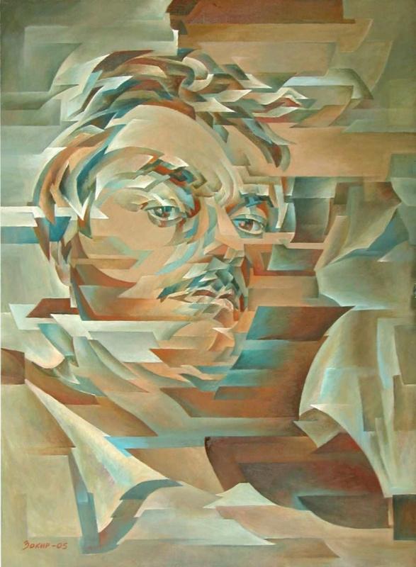 Закир Джабирович Сабиров. Автопортрет