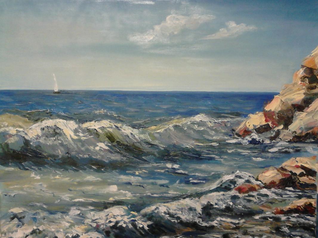 Marina Lezhneva. Surf