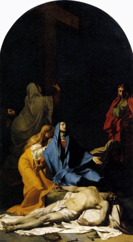 Жан Батист Реньо. Снятие с креста