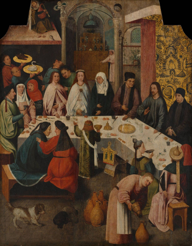 Hieronymus Bosch. Marriage at Cana