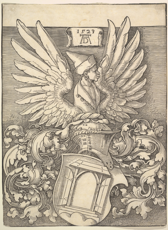 Albrecht Durer. The Coat Of Arms Of Albrecht Dürer