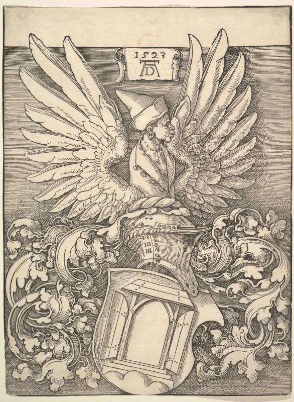 Albrecht Dürer. The Coat Of Arms Of Albrecht Dürer