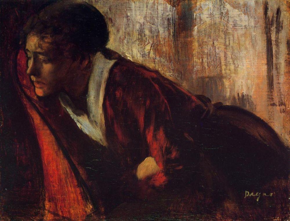 Эдгар Дега. Меланхолия