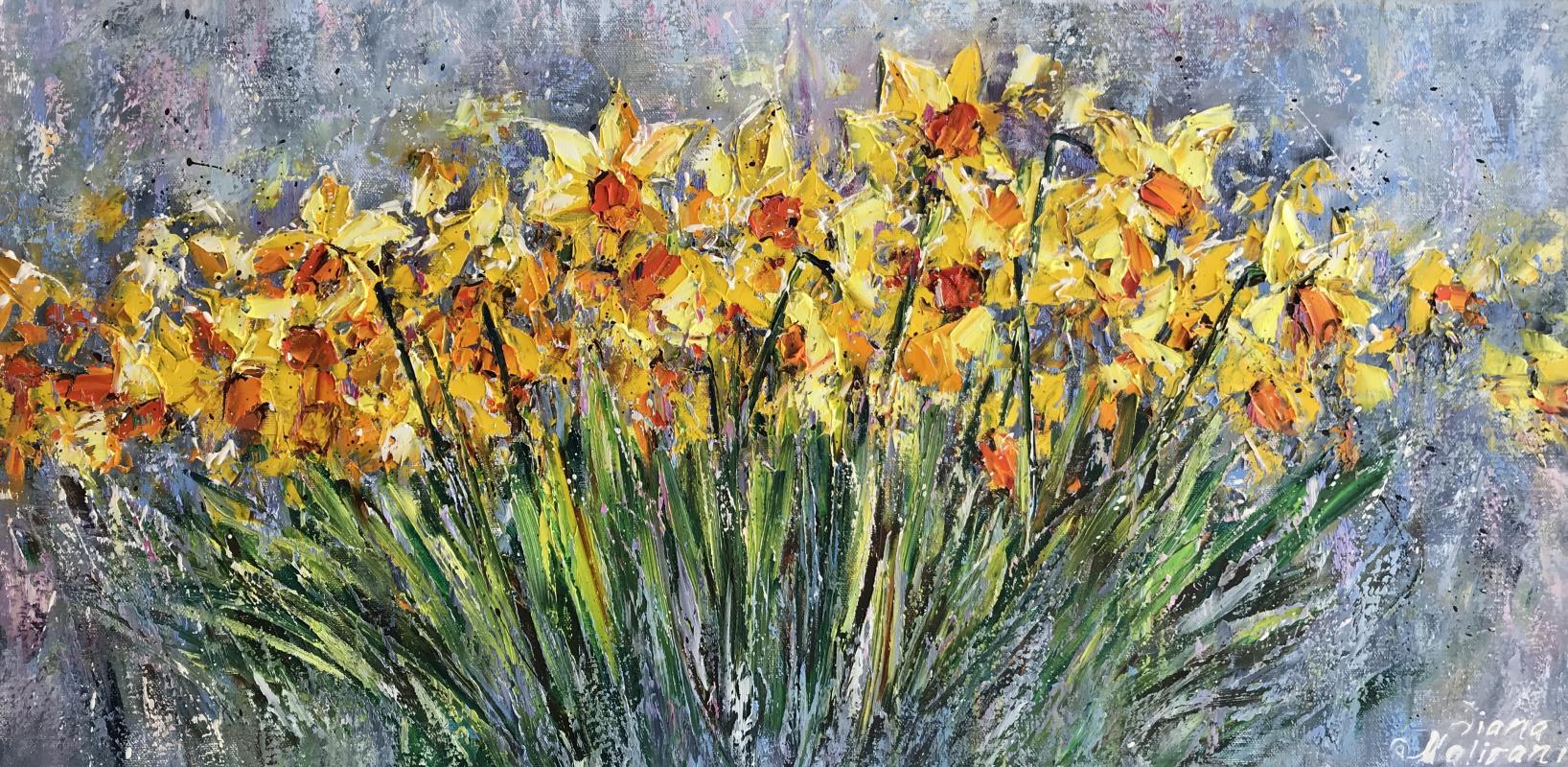 Диана Владимировна Маливани. Spring Flowers
