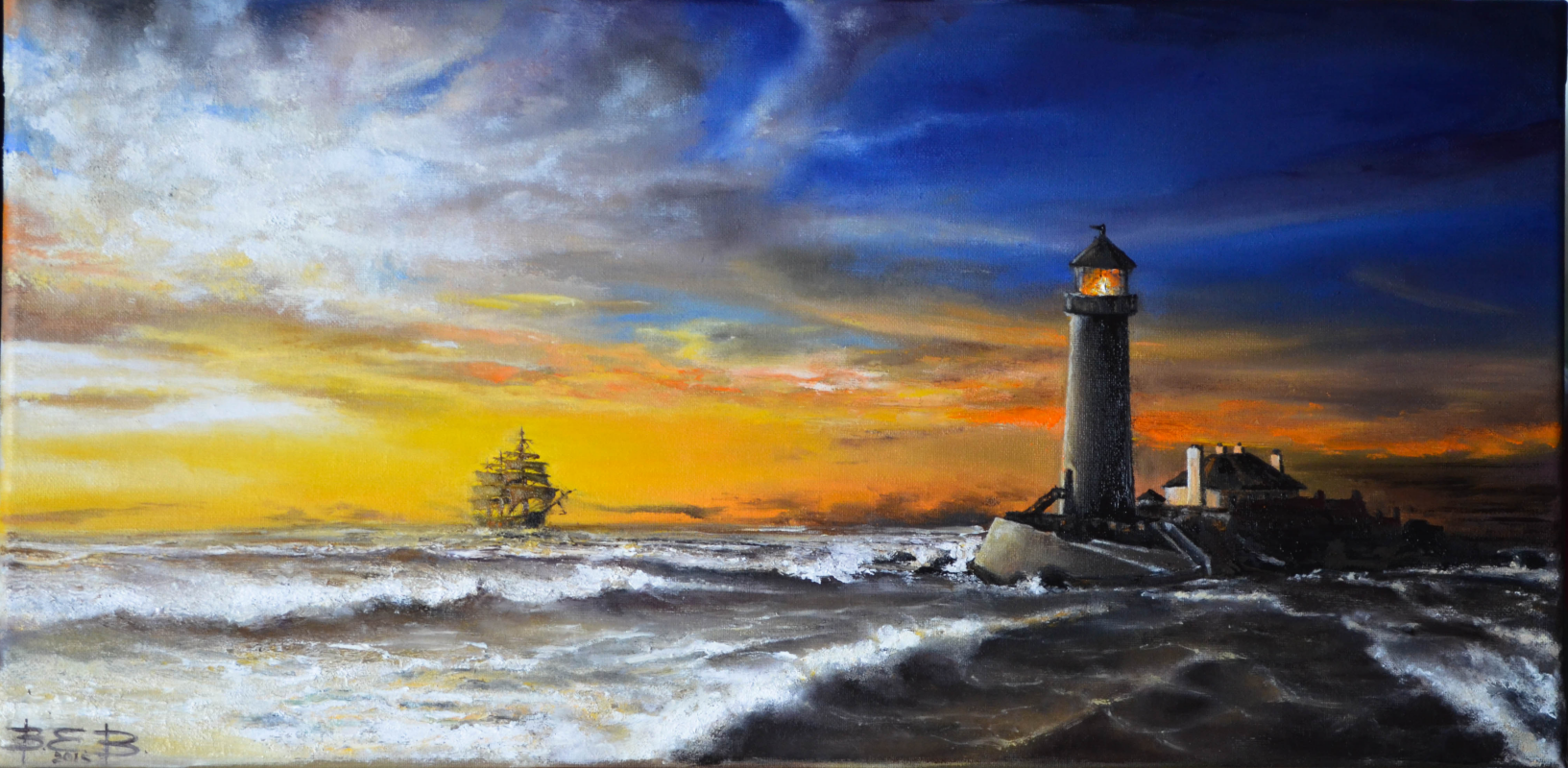 Ekaterina Vasilyeva. Lighthouse
