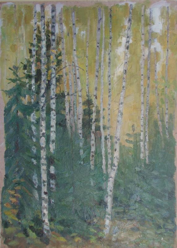 Nina Vasilievna Sedova. Autumn