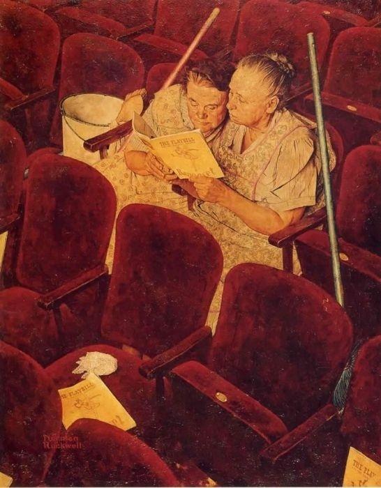 Норман Роквелл. В театре