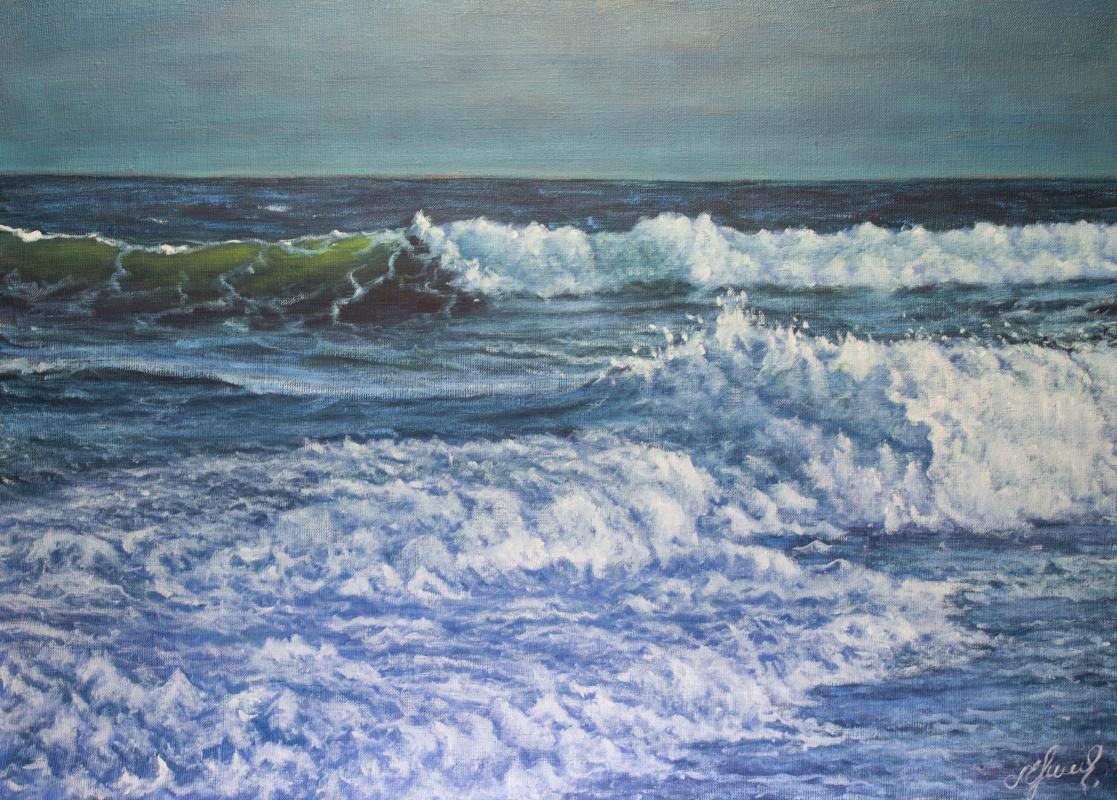 Valery Levchenko. № 579 Seascape.